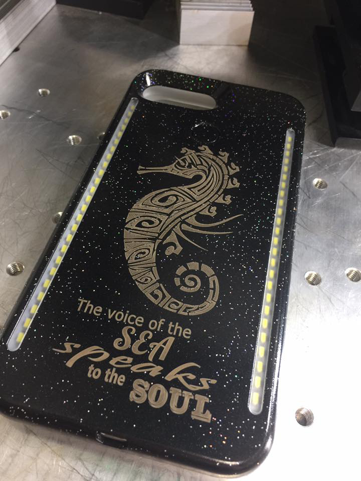 Laser Engraved Phone Case
